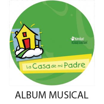 Album Musical La Casa de mi Padre  DIGITAL