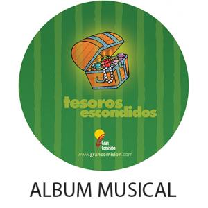 Album Musical Tesoros Escondidos  DIGITAL