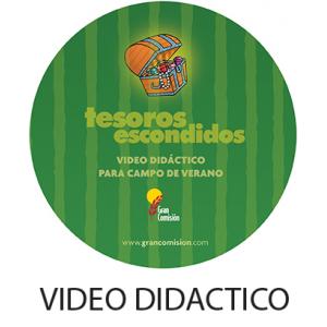 Video Didactico Tesoros Escondidos  DIGITAL