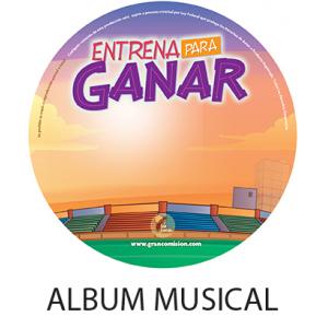 Album Musical Entrena para Ganar  DIGITAL